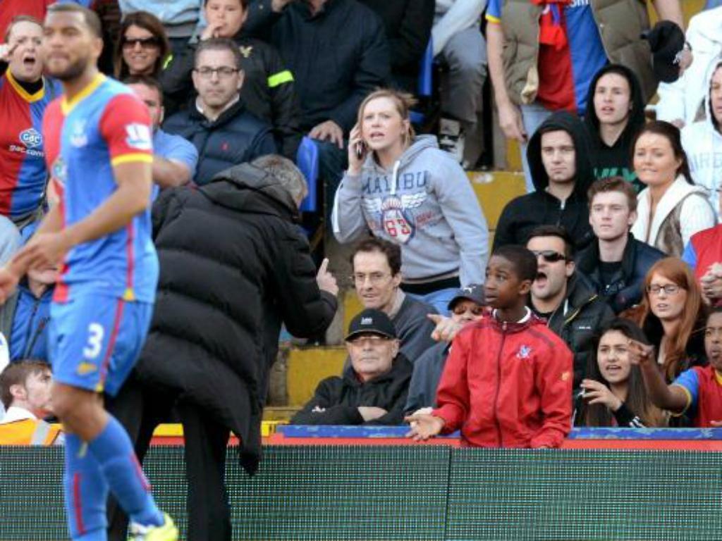 Mourinho e o apanha-bolas
