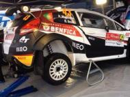 Carro do Benfica no WRC