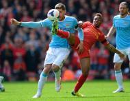 Liverpool-Manchester City (foto Reuters)