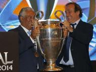 Taça da Liga dos Campeões já está na Câmara Municipal de Lisboa