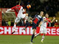 Ricardo Carvalho, João Moutinho e Ibrahimovic (Reuters)