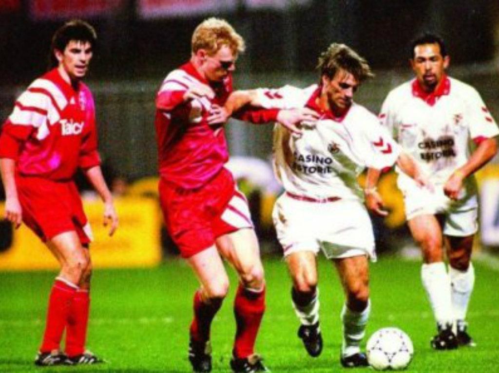 Bayer Leverkusen-Benfica, 1994