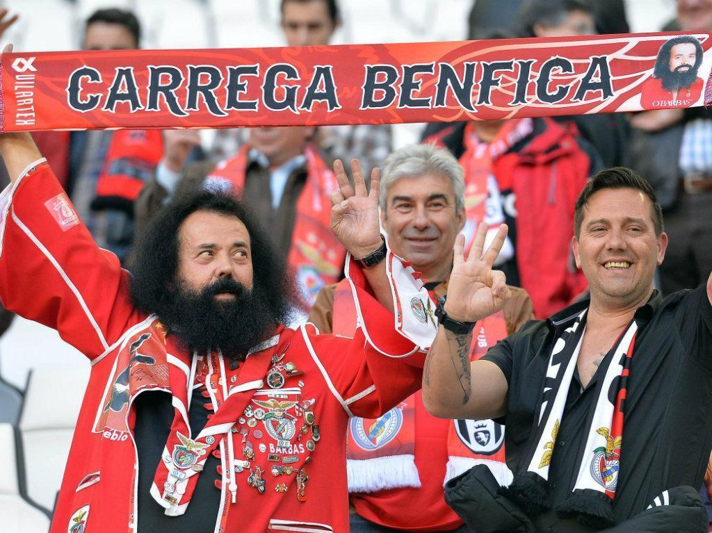 Benfica em Turim