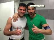 Artur Moraes e Buffon
