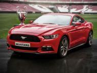 Ford Mustang na final da Champions