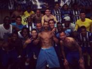 FC Porto após o clássico [twitter Defour]