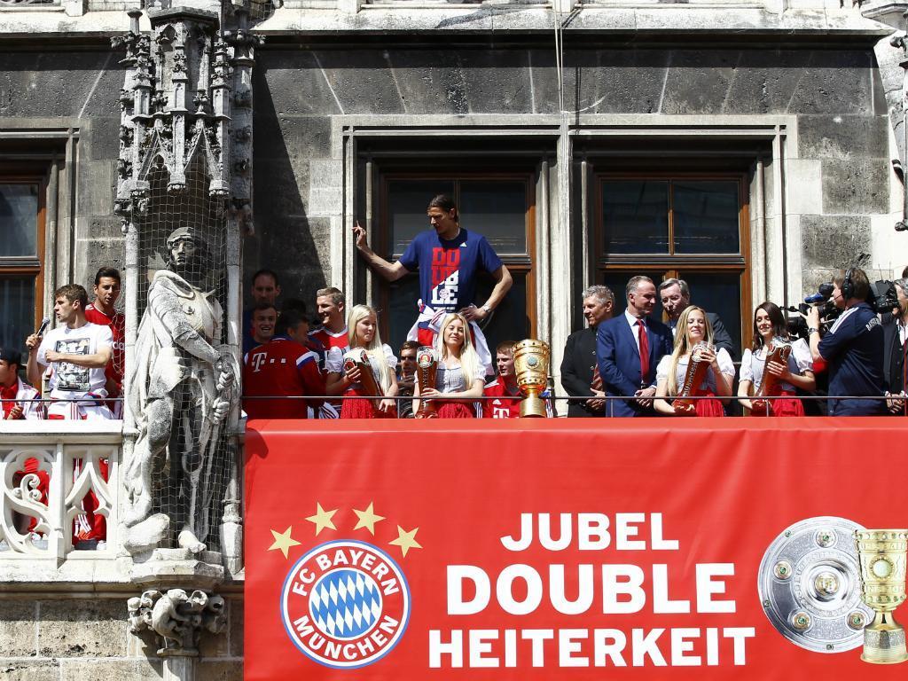 Bayern: a celebração da dobradinha