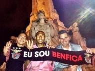 Rodrigo, Luisão e Artur (Twitter)
