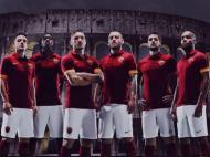 Novo equipamento da AS Roma (foto: Roma e Nike)