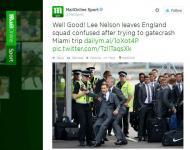 Lee Nelson (Twitter Mail Online Sport)
