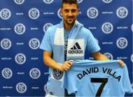 David Villa (Foto Facebook New York City FC)