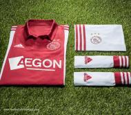 Os novos equipamentos do Ajax