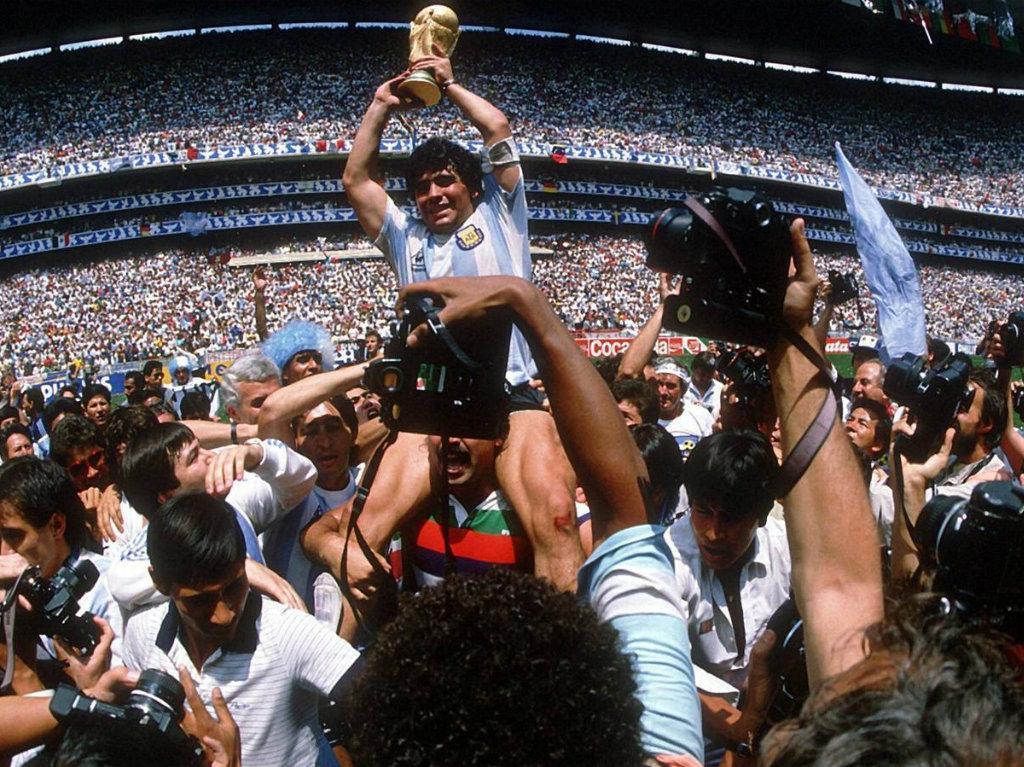 Argentina-Alemanha, 1986