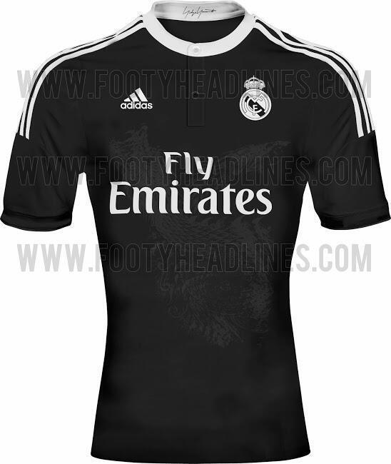 Real Madrid vai ter equipamento preto com um dragão