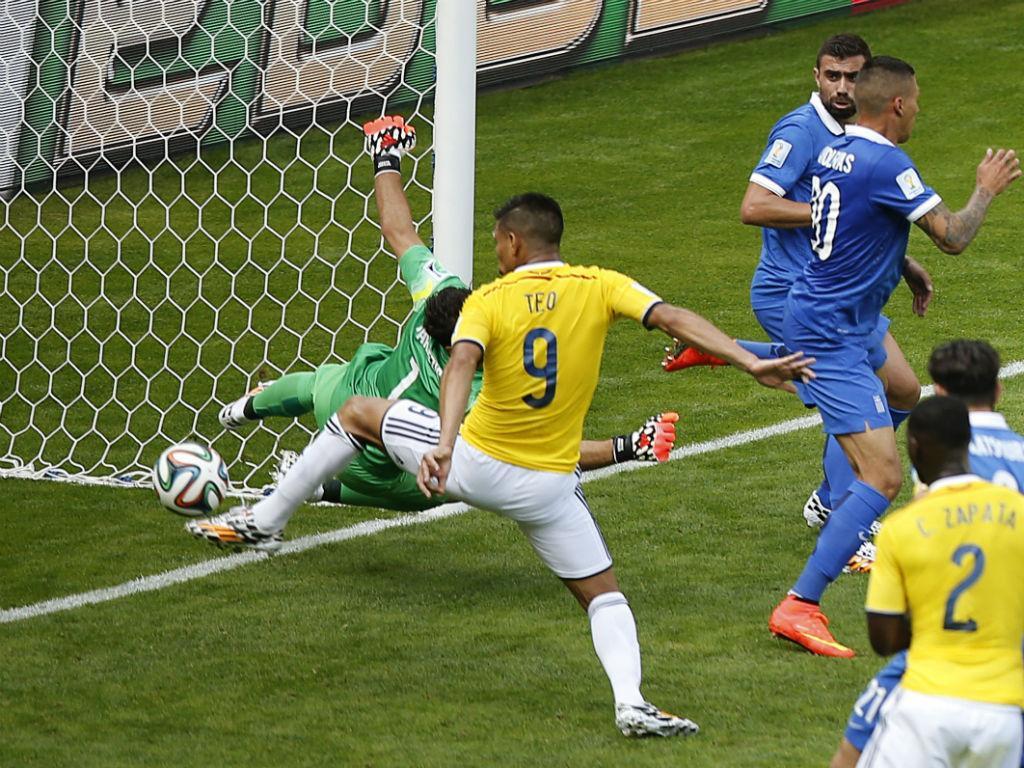 Colômbia vs Grécia (Reuters)