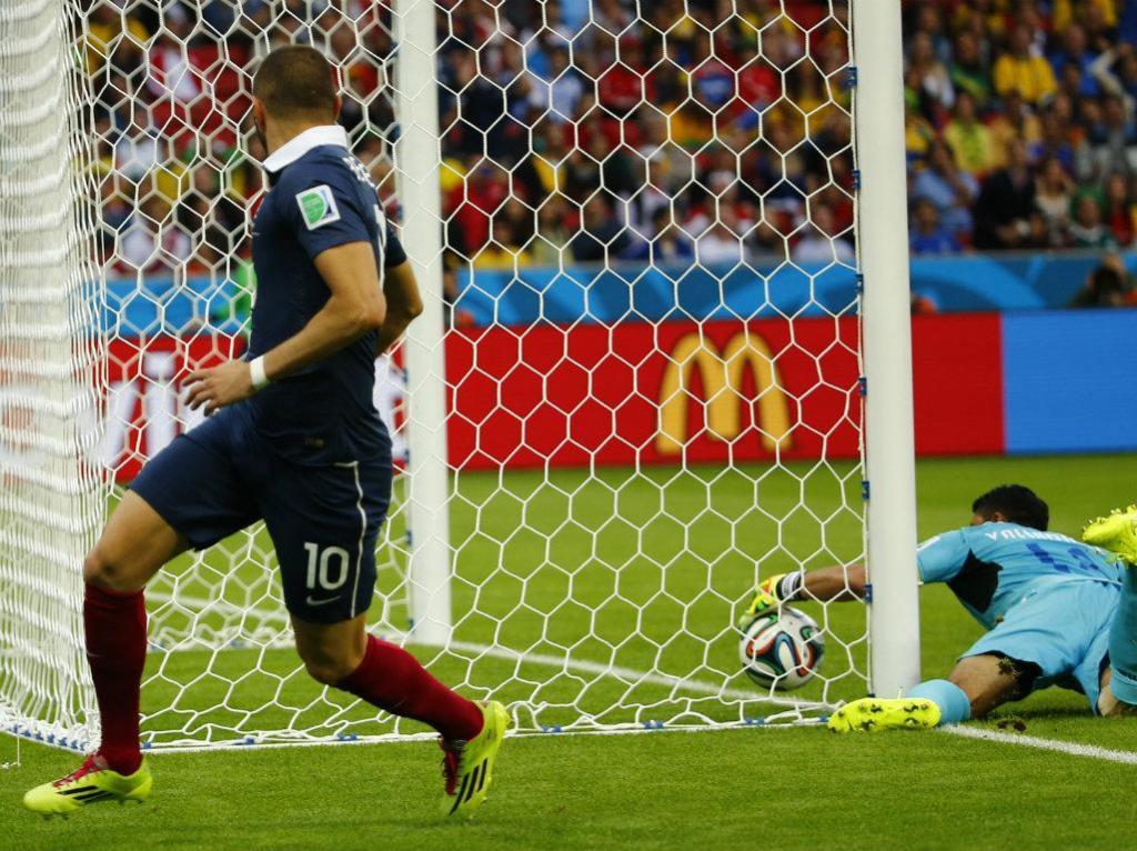 França vs. Honduras