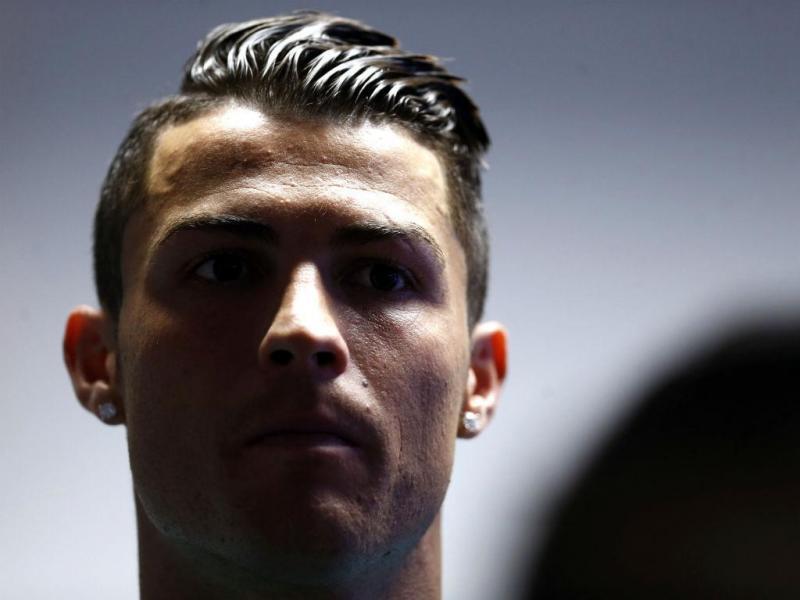 Conferência de Cristiano Ronaldo (Reuters)