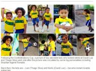 Sósias David Luiz Thiago Silva