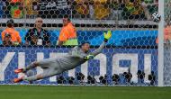 Jara remata grande penalidade ao poste e Chile fica nos oitavos de final. Brasil apurado (foto Reuters)