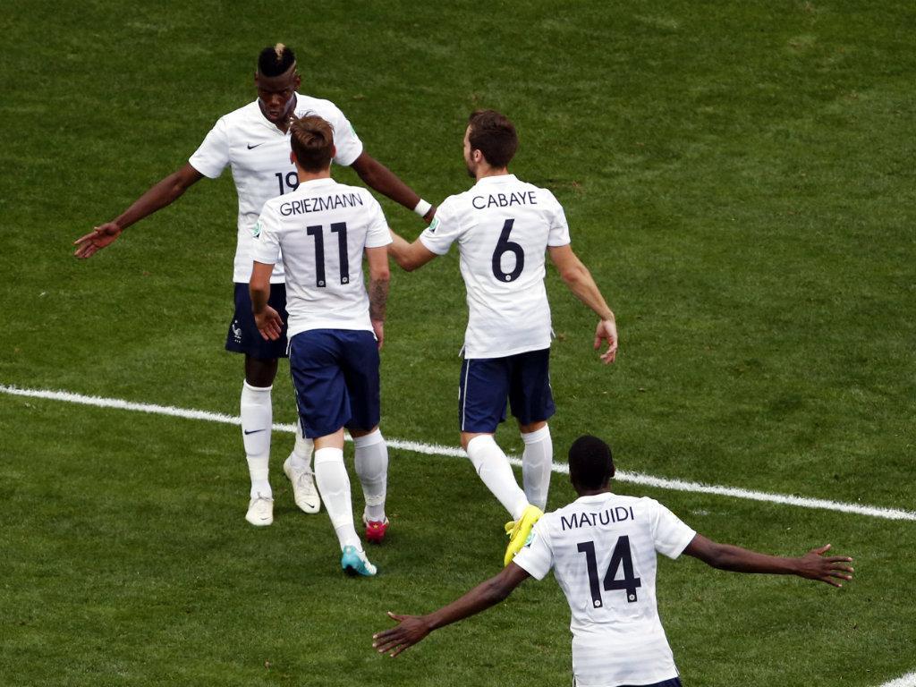 França vs Nigéria