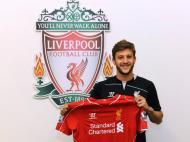 Adam Lallana (site oficial Liverpool)