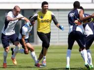Treino do FC Porto (José Coelho/Lusa)