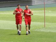 Lisandro López e Lima (foto Benfica)