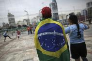 Mundial de futebol de rua em São Paulo (Reuters)