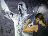 A homenagem a Di Stéfano no Santiago Bernabéu (Reuters)