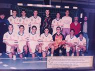 Vela Tavira: equipa juvenis masculinos 1996-97 com Ricardo Dias