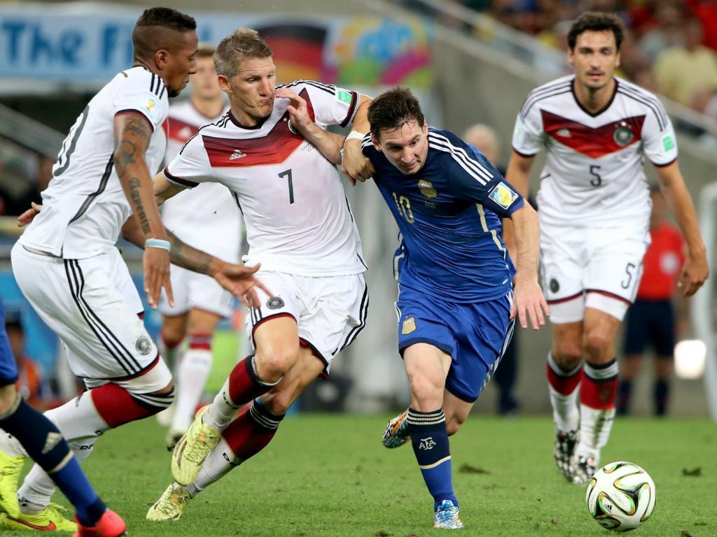 Alemanha vs. Argentina (EPA)