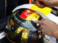 Capacete de Nico Rosberg