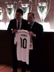 James Rodriguez no Real Madrid