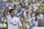 Apresentação de James Rodriguez no Real Madrid