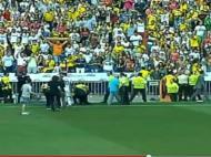 Invasão de adeptos Real Madrid James