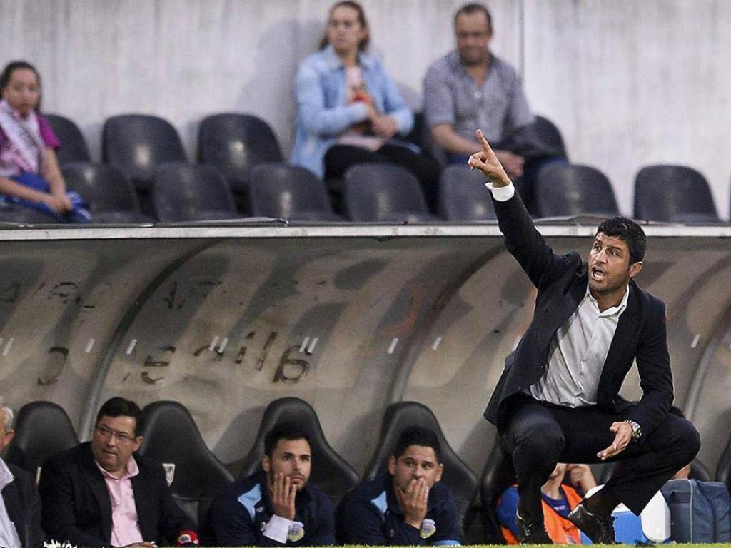 Pedro Emanuel, treinador do Arouca