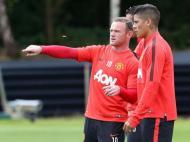 Rojo com Rooney (foto: Man Utd)