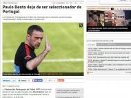 Saída de Paulo Bento: «Mundo Deportivo» (Espanha)