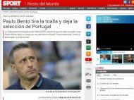 Saída de Paulo Bento: «Sport» (Espanha)