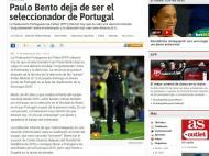 Saída de Paulo Bento: «As» (Espanha)