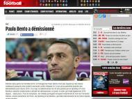 Saída de Paulo Bento: «France Football»