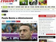 Saída de Paulo Bento: «L'Equipe» (França)