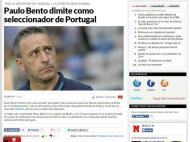 Saída de Paulo Bento: «Marca» (Espanha)