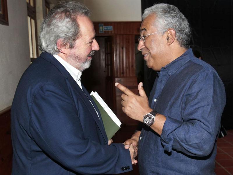 Pacheco Pereira e António Costa [Foto: Lusa]