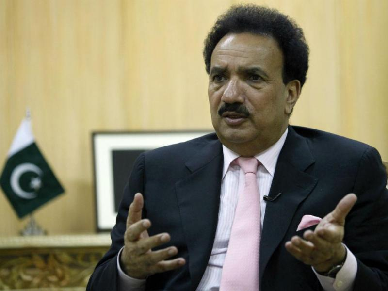 Rehman Malik, ex-ministro paquistanês do Interior (REUTERS/Faisal Mahmood)