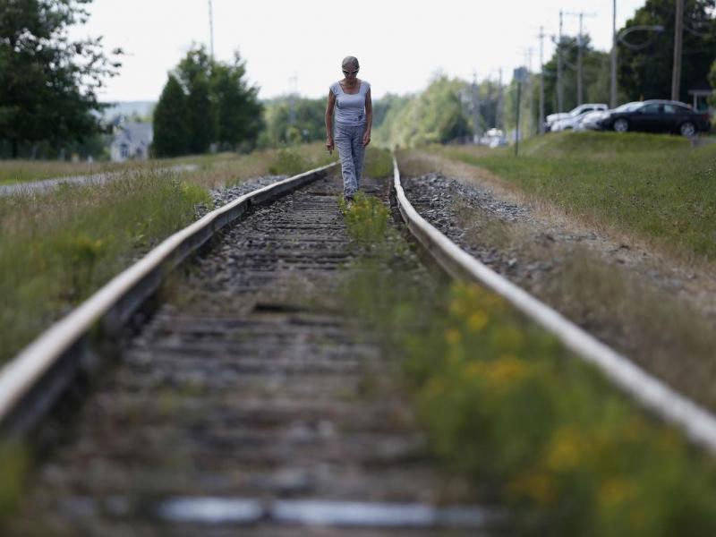 Linha de comboio (REUTERS)