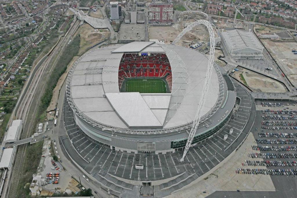 Estádio de Wembley (Reuters)