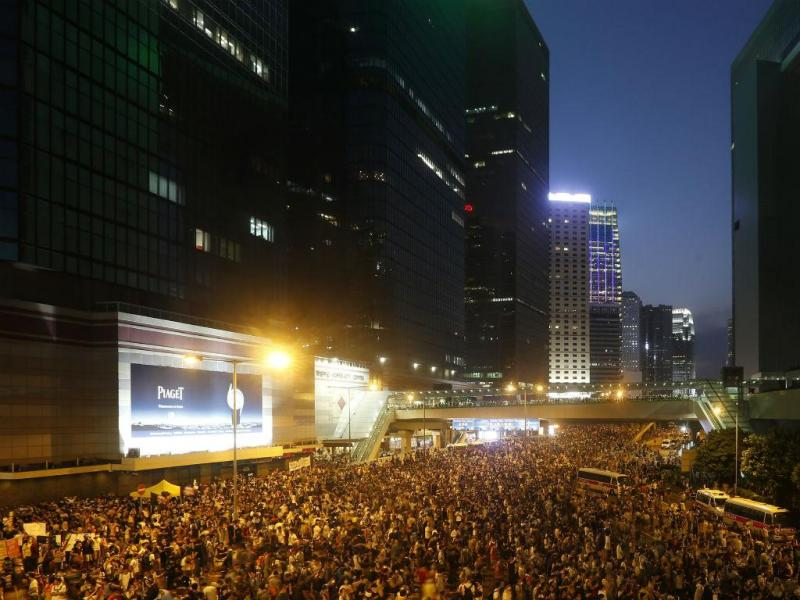 Protestos em Hong Kong (REUTERS)