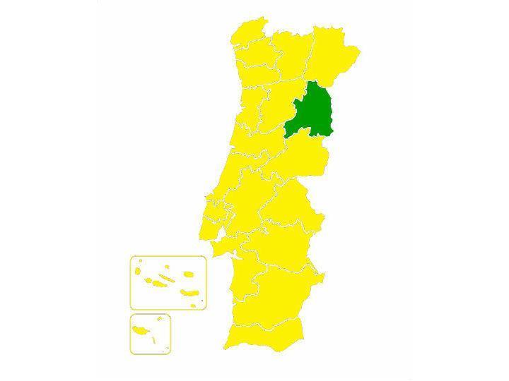Mapa com os resultados das federações mostra vitória esmagadora de Costa