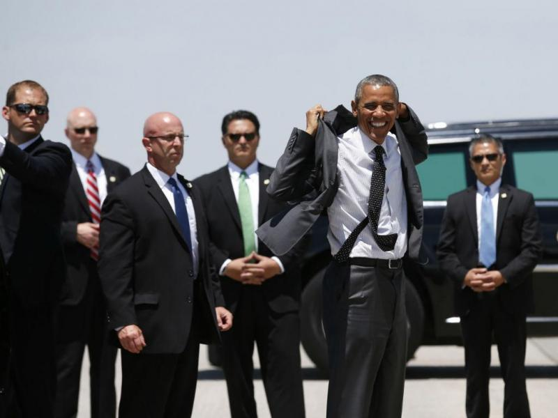 Corpo de segurança de Barack Obama (REUTERS)